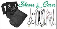 Dog Scissors, Shear Cases